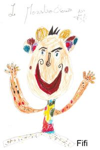 MonstroClown par Fifi 2 ans