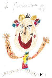 MonstroClown par Fifi 2 ans