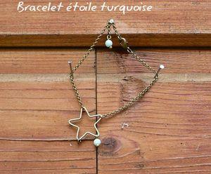 Bracelet étoile poind'il