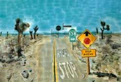 Pearblossom highway hockney