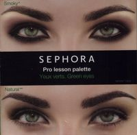 Sephora pro lesson green eyes